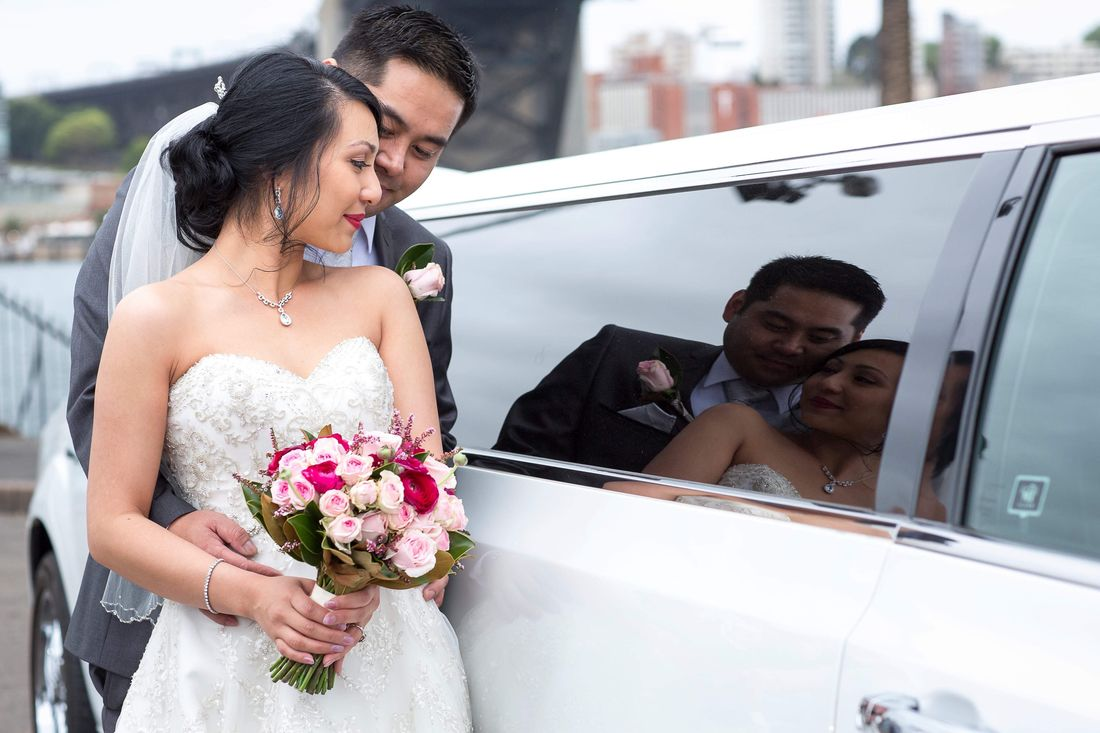 Wedding limo Sydney