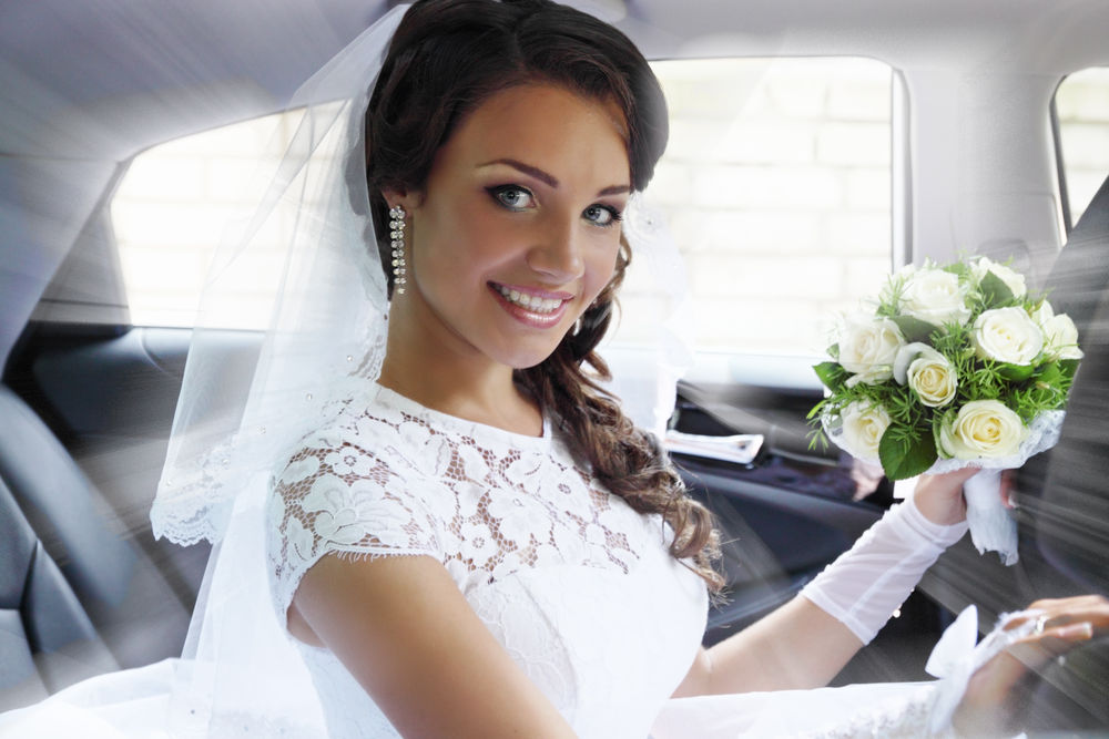 Show Limousines bride